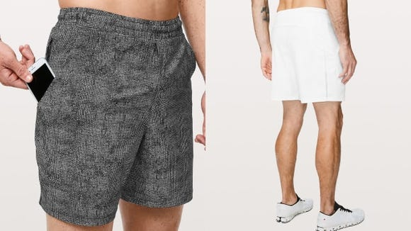 These running shorts have a pocket for just about everything.