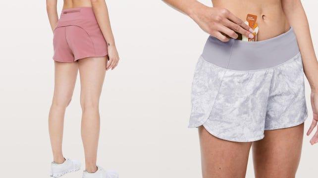 Mens Running Shorts Breathable Lightweight Gym Active Wear Black Grey