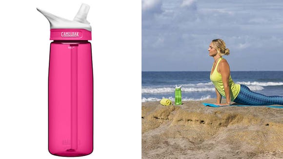 The Camelbak Eddy is simple, easy to use, and inexpensive–just what many want in a water bottle.