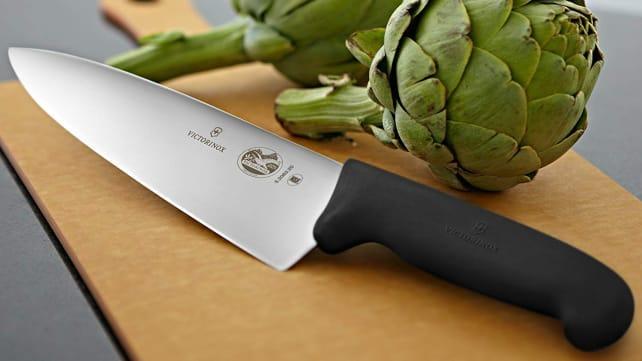 Los mejores regalos para esposas 2020: Victorinox Fibrox Pro Chef's Knife.