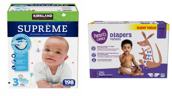 You can get bulk diapers at a lower price at Walmart.