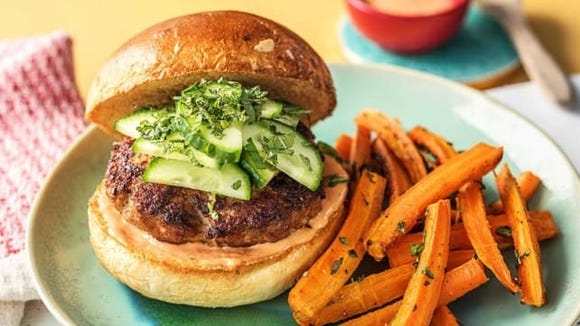 The Bánh Mì Burgers were our tester's favorite meal.