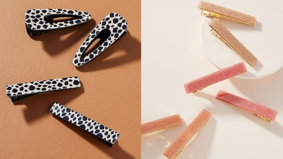 Keep your fringe out of your face with these adorable clips.