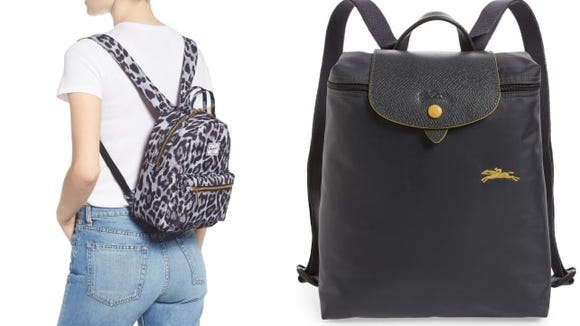 From sunglasses to backpacks, the '90s mini trend is in full swing.