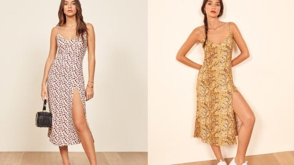 Feel all the summer breezes in this Reformation slip dress.