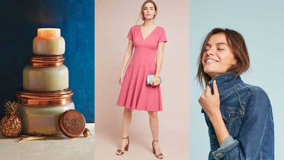 From candles to clothing, Anthropologie had sales on everything in May.