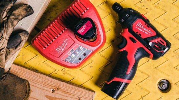 There's nothing this electric screwdriver can't handle.