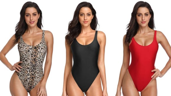 Dixperfect One-Piece Retro 90s bathing suit