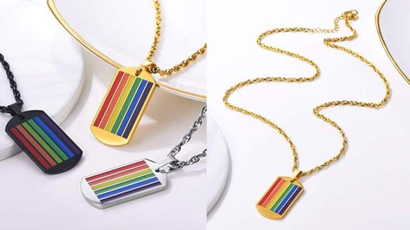 This subtle way to show your pride is perfect all year long.