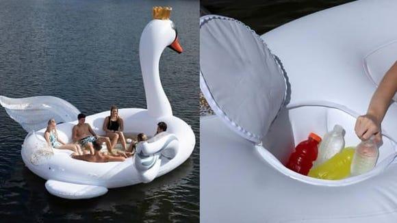 Sun Pleasure party float