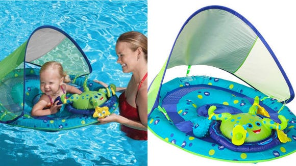 For your babies first days in the pool, Swimways has you covered.