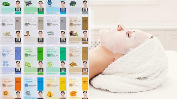 Dermal Korea Collagen Mask Set