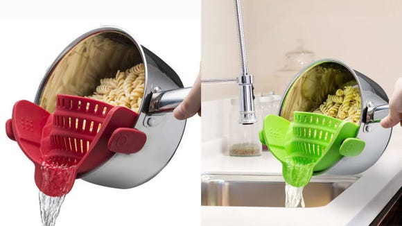 Ditch the annoying-to-wash strainer and use this smaller, more convenient one.