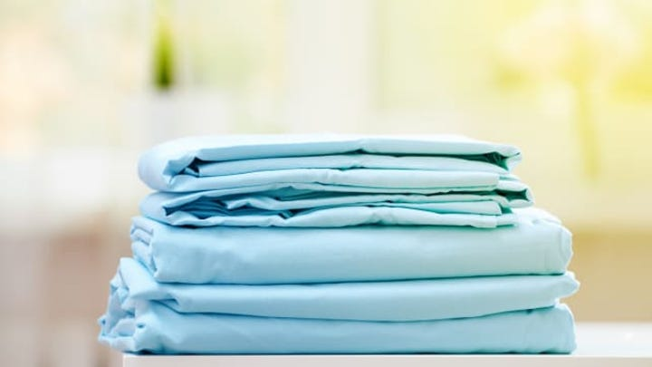 Folding a fitted sheet? Easier said than done