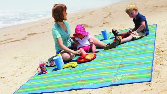 Outdoor beach mat