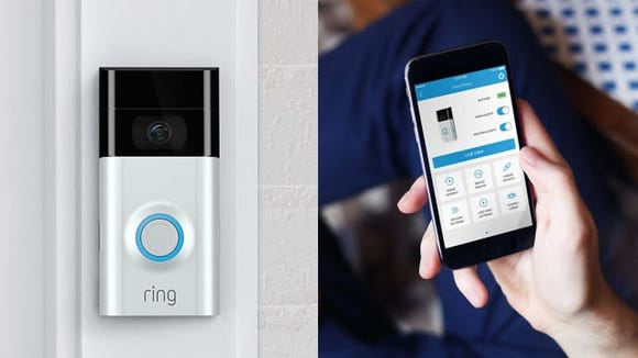 A good video doorbell like the Ring 2 lets you keep an eye on things even when you're not home.