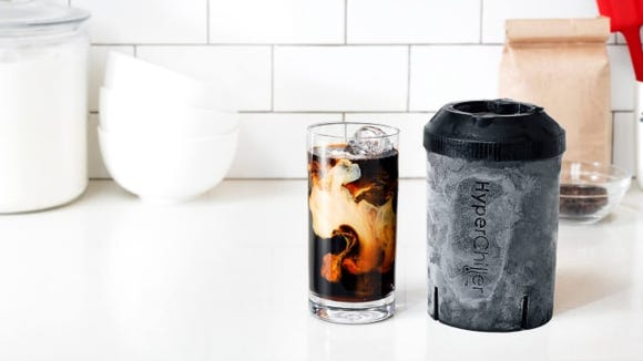 You'll have a cold drink without worrying about ice watering it down.