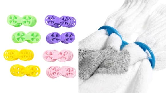 """Use a different color for each sock """"family."""""""