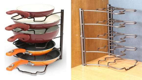 wire pan organizer