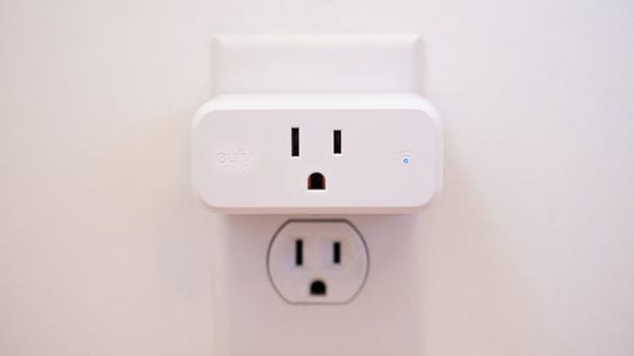 No matter where you place it, the Eufy Smart Plug Mini won't block an adjacent socket.