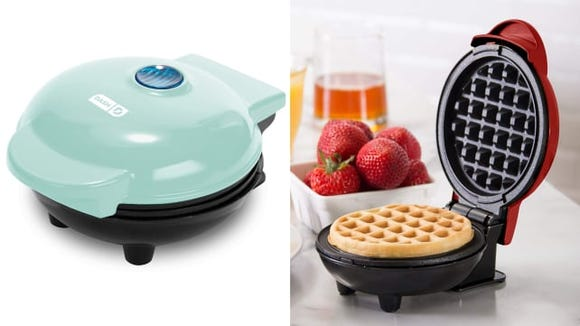 This cute little waffle maker belongs in your kitchen.