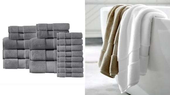 Do you remember the last time you bought new towels? Might be time to upgrade your collection.