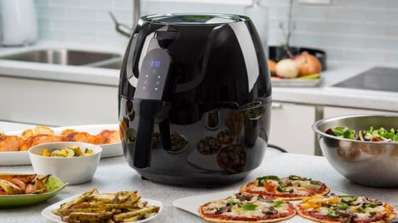 This big air fryer is perfect for large families.