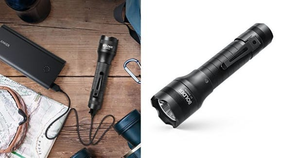 Not only is this flashlight bright, but it's rechargeable!