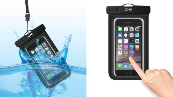 These pouches will keep your phone safe at the beach, in the rain, and even in the shower.