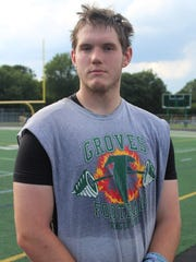 Senior center Christian Zeitvogel, who will attend Kalamazoo College to play football, believes Groves has the talent for another memorable season.
