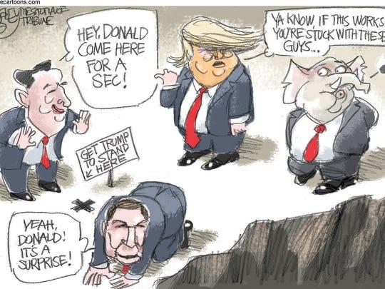 Tripping Trump