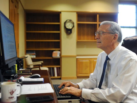 William Lewis is retiring from Pearl River Community