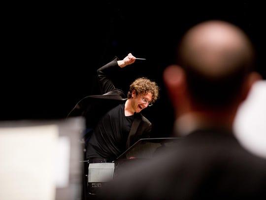Conductor Teddy Abrams, along with soprano Morgan James,