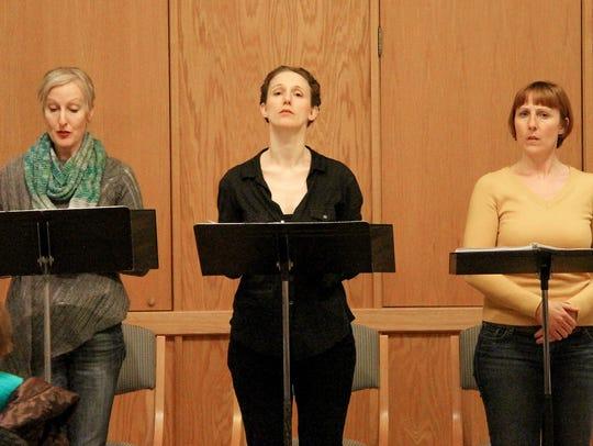 McKinley Carter, Cassandra Bissell and Maggie Kettering,