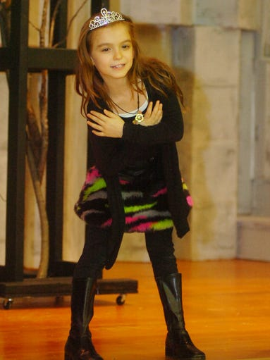Kacy Rankin celebrated her eighth birthday on stage
