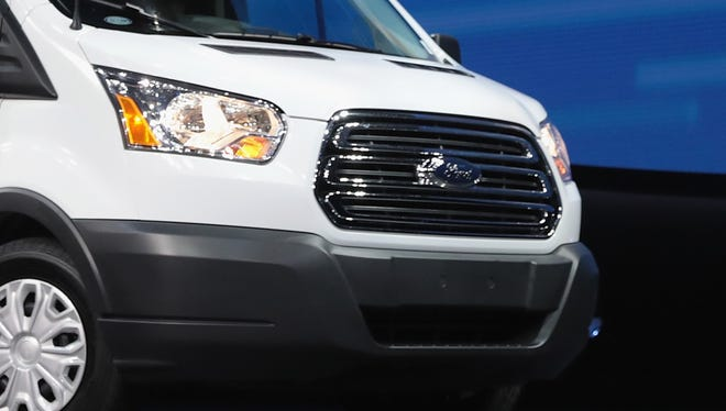 Ford is recalling some Transit models for a drive shaft issue.