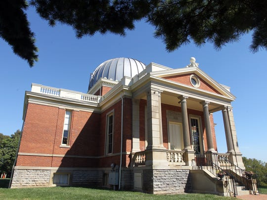 Exterior of the main building at the Cincinnati Observatory, Mt. Lookout.
