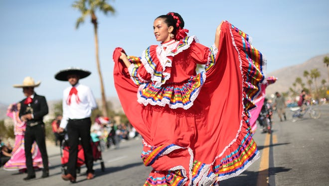 The city of Desert Hot Springs held its holiday parade on Saturday, December 10, 2016.
