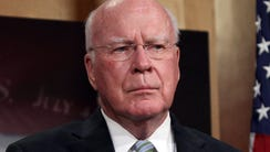 In this April 23, 2015, file photo, Sen. Patrick Leahy,