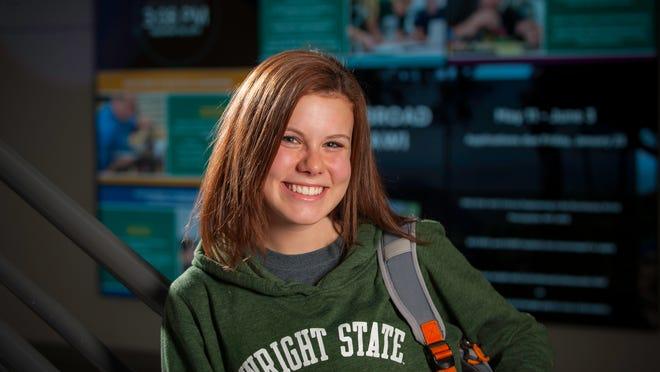 Wright State University student Josie Cheatham