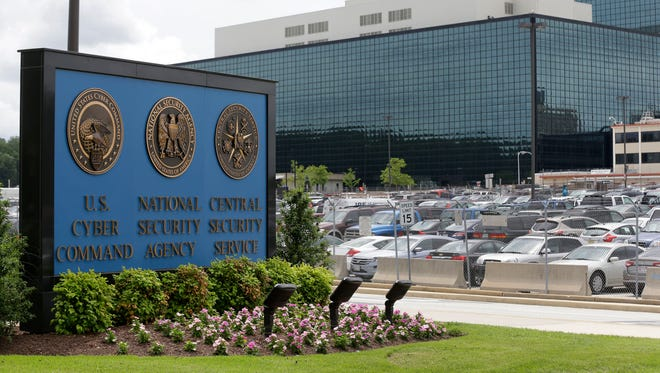 The National Security Agency campus in Fort Meade, Md., is seen in 2013.