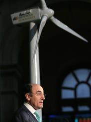 A 2007 photo shows Jose Ignacio Sanchez Galan, chief