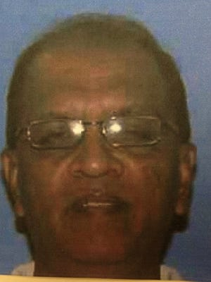 Nilkanth Patil, 53, was killed when two men allegedly tried to rob his store in Lawrence County