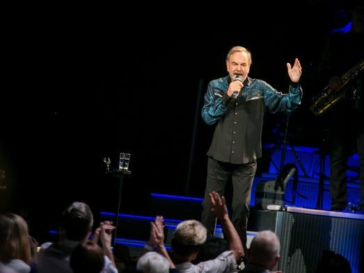 Neil Diamond Th Anniversary Tour Setlist