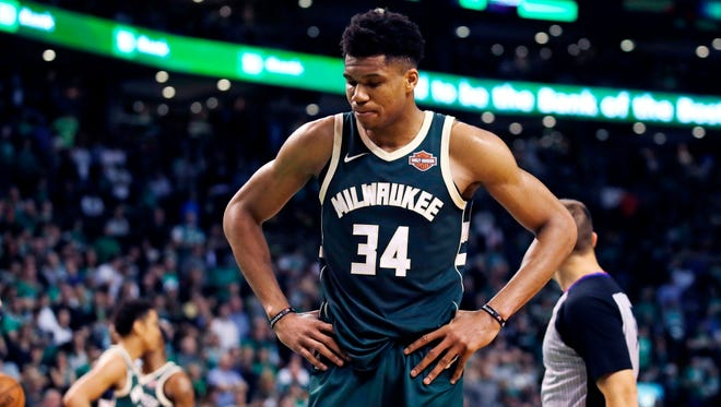 "Giannis Antetokounmpo is one of four nominees for ""Best NBA Player"" at the upcoming ESPYS."