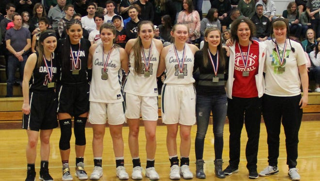 The Class 3A all-tournament teams  on Saturday, March 3, 2018.