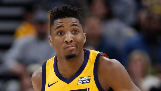 Jazz rookie Donovan Mitchell is on pace to become the first rookie since Blake Griffin (excluding Joel Embiid, who only played 31 games) to average more than 19 points per game.