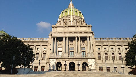 Stock image of the Pennsylvania Capitol
