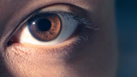 Scientists have a theory about why people break eye contact.