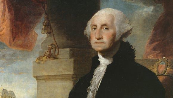 This image provided by Sotheby's depicts Gilbert Stuart's